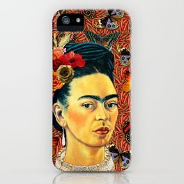 FRIDA bUTTERFLYS iPhone Case