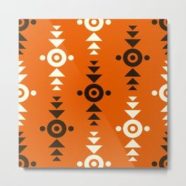 Indian Designs 123 Metal Print