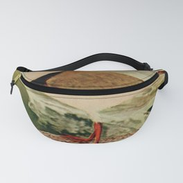 Vintage Print - Birds and Nature (1904) - American Ring Plover Fanny Pack