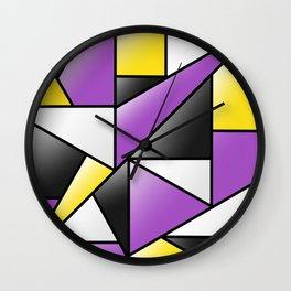 NB (pattern) Wall Clock