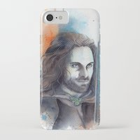 aragorn iPhone & iPod Cases featuring Elessar by Kinko-White