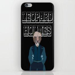 Leopard Holmes iPhone Skin