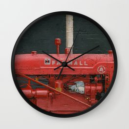 vintage IH farmall tractor series A Wall Clock