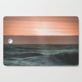 Perfect Ocean Sunset Cutting Board