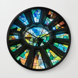 Sathedral sagrada família barcelona Wall Clock