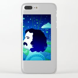 David's Beautiful Imagination Clear iPhone Case
