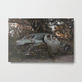 Left Behind Metal Print