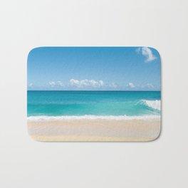 Turquoise wave Bath Mat