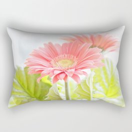 Gerber Daisies Flower Rectangular Pillow