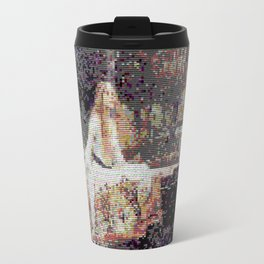 Lady of Shallot Glitch II Travel Mug