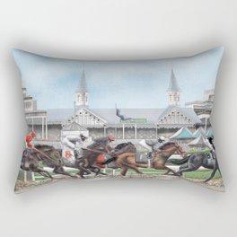 Churchill Downs Rectangular Pillow