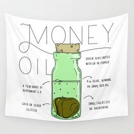 Money Oil - Magic Abundance Potion Wall Tapestry