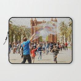 Barcelona's Arc de Triomf Laptop Sleeve