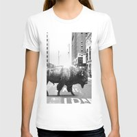 T-shirts featuring STREET WALKER by Maioriz Home