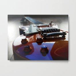 Guitar rock music epiphone Metal Print