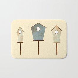 Birdy Birdhouse Bath Mat