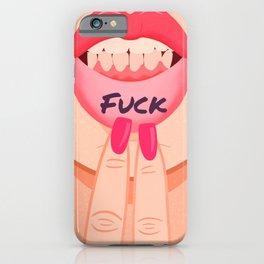 Fuck iPhone Case