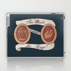 The Cage or the Bird? Laptop & iPad Skin