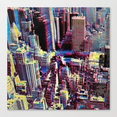 EPICENTER Canvas Print