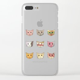 Food & Cats Clear iPhone Case