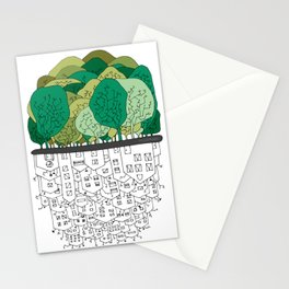 SCONFINAMENTI-CITY AND NATURE Stationery Cards
