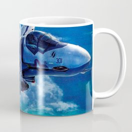 Macross AirCraft VF-1 Valkyrie Coffee Mug