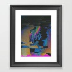 Bismuth Crystal Framed Art Print