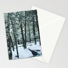 Spring Snow Stationery Cards