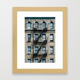 Facades of NY - 01  Framed Art Print