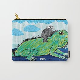Iggy and The Marmoset Carry-All Pouch