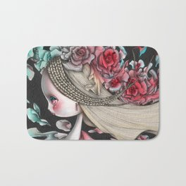 Flower Wind Bath Mat