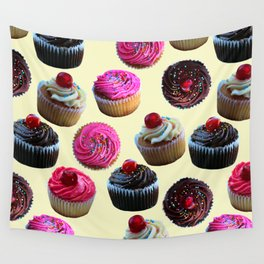 Cupcakes Wall Tapestry