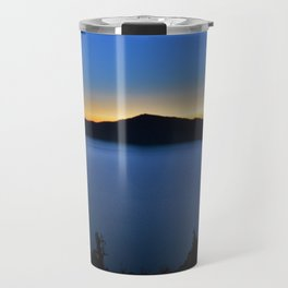The Golden Hour is upon Crate Lake. Travel Mug