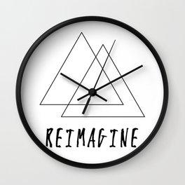 Reimagine Wall Clock