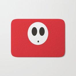 SHY GUY (RED) Bath Mat