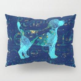 Decorative Beagle  dog Pillow Sham