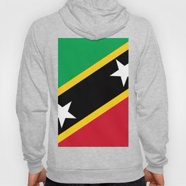 St. Kitts And Nevis Flag Hoody