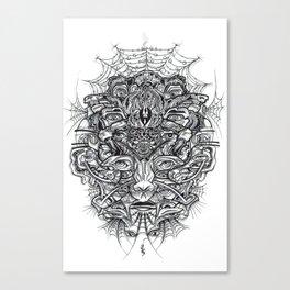 Spiderbloke Canvas Print