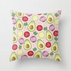 GUACAMOLE PARTY Throw Pillow