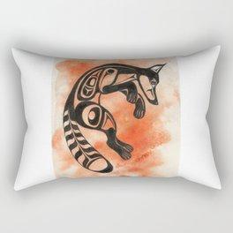 Ghost Fox Rectangular Pillow
