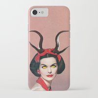 demon iPhone & iPod Cases featuring Demon by Eugenia Loli