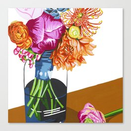 Summer Blossoms Canvas Print