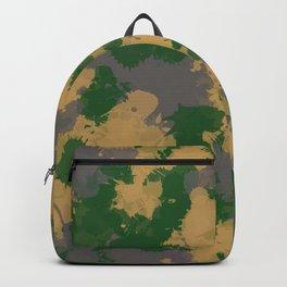 Camo Paint Splatter Backpack