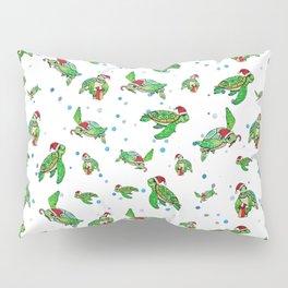 Holiday Sea Turtles Pillow Sham