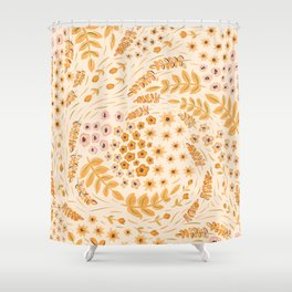 Goldy Lox Shower Curtain