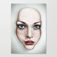 milk Canvas Prints featuring Milk by Jordygraph
