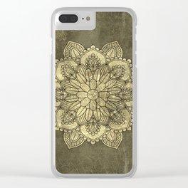 Wonderful mandala Clear iPhone Case