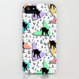 Retro Kitty iPhone Case