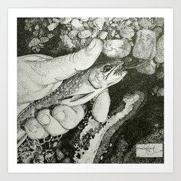 brookie Art Print