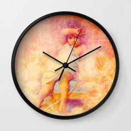 An Angel Beag (The Littlest Angel) Wall Clock